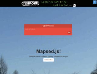 mappy.apphb.com screenshot