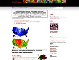 mapresso.com screenshot