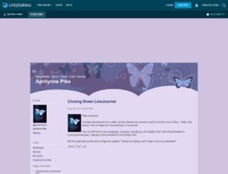 maprilynne.livejournal.com screenshot