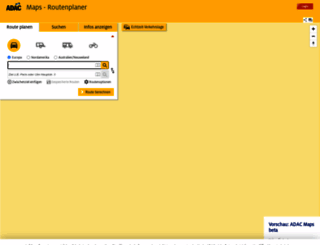 maps.adac.de screenshot