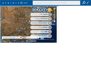 maps.afrigis.co.za screenshot