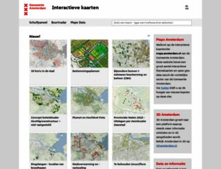 maps.amsterdam.nl screenshot