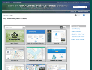maps.charmeck.org screenshot