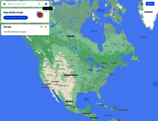 maps.google.ci screenshot
