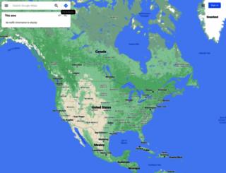 maps.google.co.bw screenshot