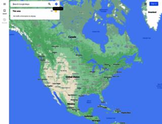 maps.google.co.uk screenshot