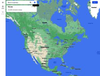 maps.google.com.my screenshot