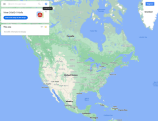 maps.google.is screenshot