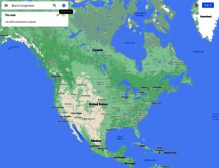 maps.google.tt screenshot