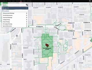 maps.ilstu.edu screenshot