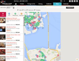 maps.macau.com screenshot