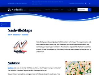 maps.nashville.gov screenshot