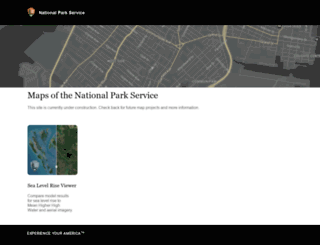 maps.nps.gov screenshot