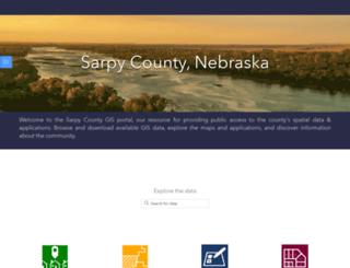maps.sarpy.com screenshot