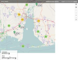 maps.solidearth.com screenshot