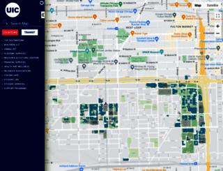 maps.uic.edu screenshot