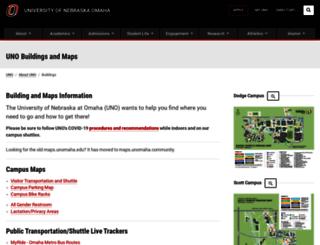 maps.unomaha.edu screenshot