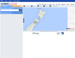 maps.yellow.co.nz screenshot