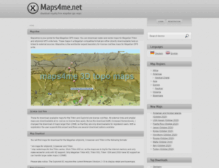 maps4me.net screenshot