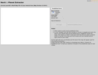 maps6.navit-project.org screenshot
