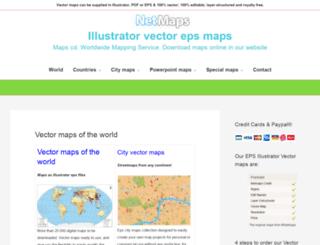mapscd.com screenshot