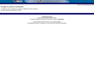 mapserver.inegi.org.mx screenshot