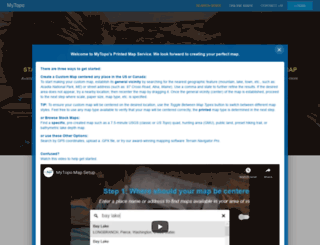 mapserver.mytopo.com screenshot