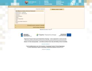 mapserver.um.katowice.pl screenshot
