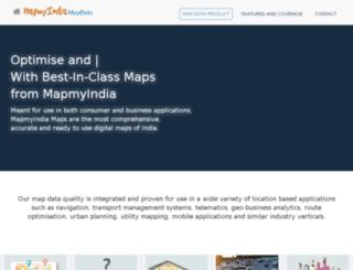 mapstore.mapmyindia.com screenshot