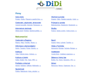 mapy.cent.cz screenshot