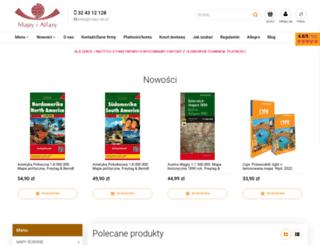 mapy.net.pl screenshot