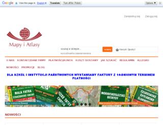 mapyiatlasy.home.pl screenshot