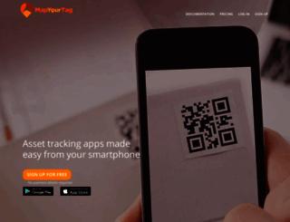mapyourtag.com screenshot