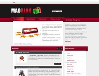 maqblok.com.br screenshot