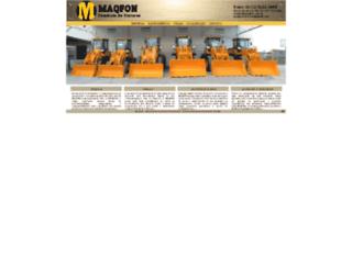 maqfon.com.br screenshot