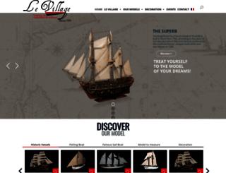 maquettesdebateaux.com screenshot