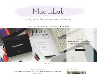maquilab.com screenshot