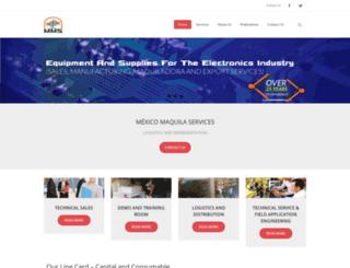 maquilaservices.com.mx screenshot