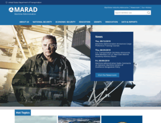 marad.dot.gov screenshot