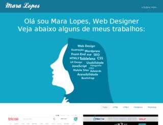 maralopes.com.br screenshot