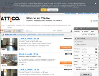 maranosulpanaro.attico.it screenshot