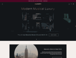marantz.eu screenshot