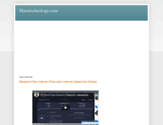 maratechnology.com screenshot