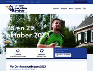 marathonbrabant.nl screenshot