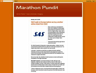 marathonpundit.blogspot.com screenshot