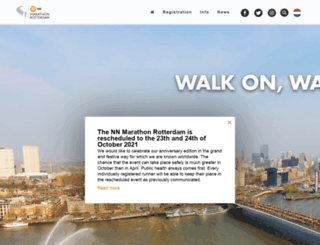 marathonrotterdam.org screenshot