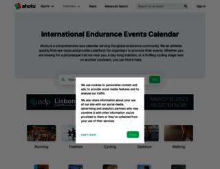 marathons.ahotu.com screenshot