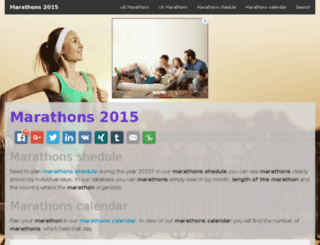marathons2015.net screenshot