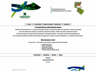 marathontech.com screenshot