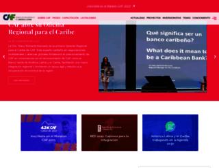 maraton.caf.com screenshot